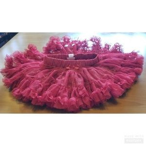 Cat and Jack Red Lined Tulle Tutu Skirt